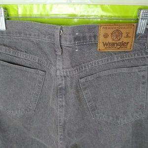 Wrangler Gray Jeans Made In USA